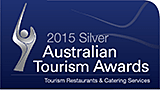 2015 Qantas Silver Award for Tourism Restaurants and Catering