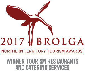 2017 Brolga Restaurant and Catering Award Winner