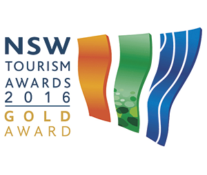 2016 NSW Tourism Gold Award for Major Tour and Transport Operator & Hall of Fame