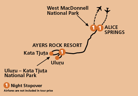 Short Break From Alice Springs To Uluru Aat Kings