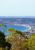 Spectacular panoramic views of Mornington Peninsul
