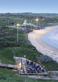 Phillip Island viewing platforms and penguin parad