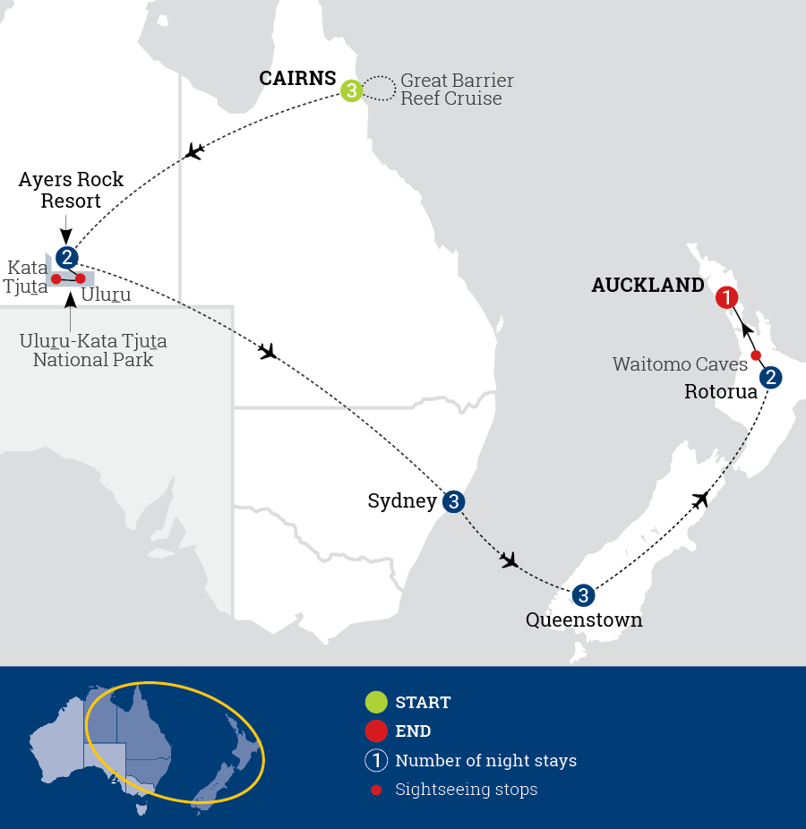 Discover Australia & New Zealand | AAT Kings