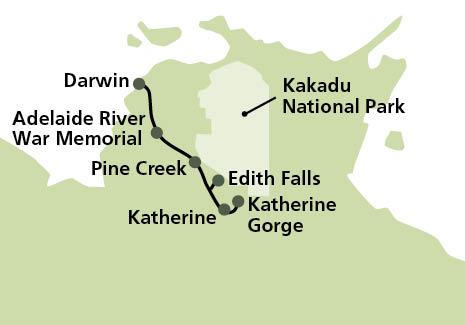 Katherine Gorge Cruise Amp Edith Falls Aat Kings