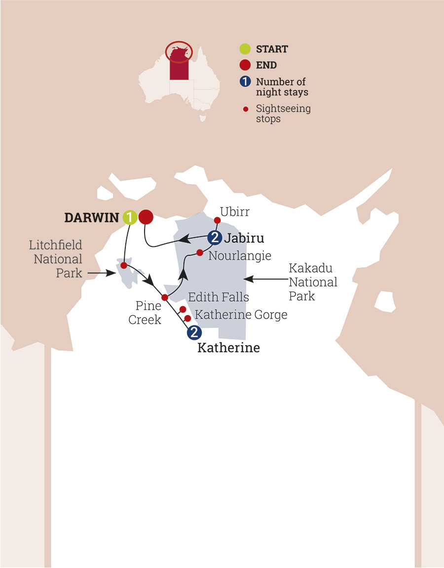 Best Darwin Hotels And Sightseeings Map Photos - Maps Posters ...