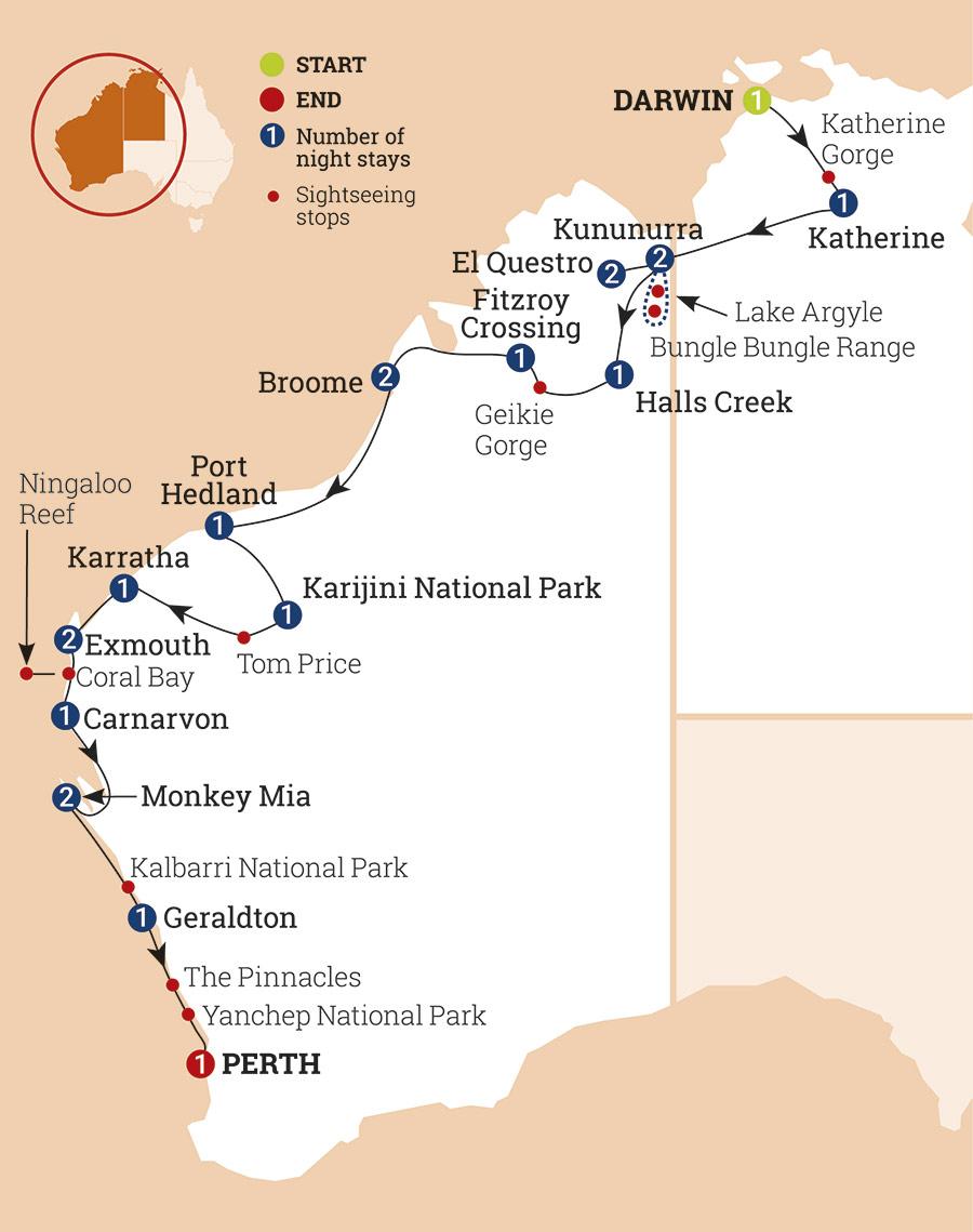 Untamed Kimberley & West Coast   AAT Kings