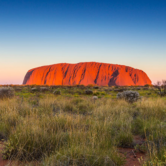 ayers rock uluru sunset YY43 preview
