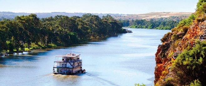 Cruise on the Murray River