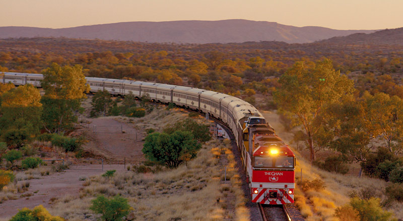 adelaide the ghan landscape ZRA6 preview