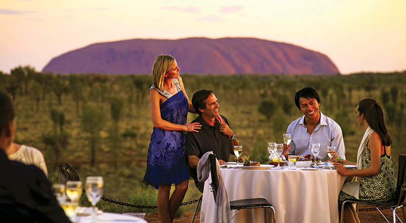 ayers rock sounds of silence dinner YY47 preview
