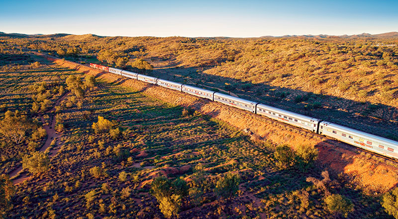 ayers rock the ghan exterior YRD7 preview