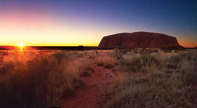 ayers rock uluru sunrise YA01 preview