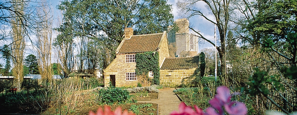 Captain Cook's Cottage Fitzroy Gardens