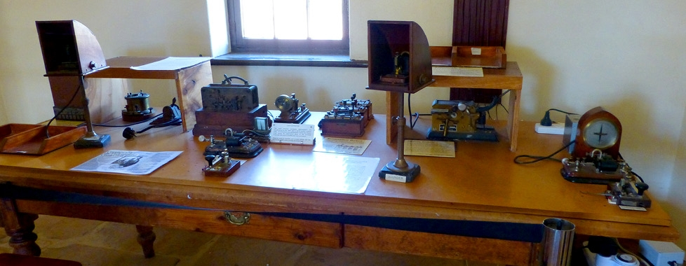 The Telegraph Station – equipment