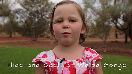 The best activities for kids at Uluru