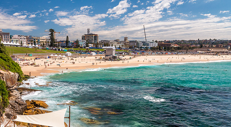 Bondi Beach & Sydney Sights