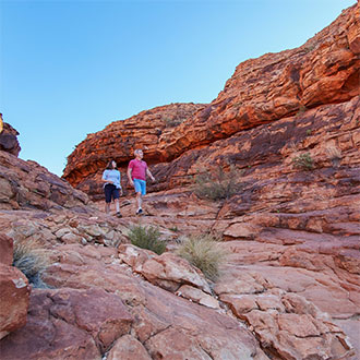 red centre hike