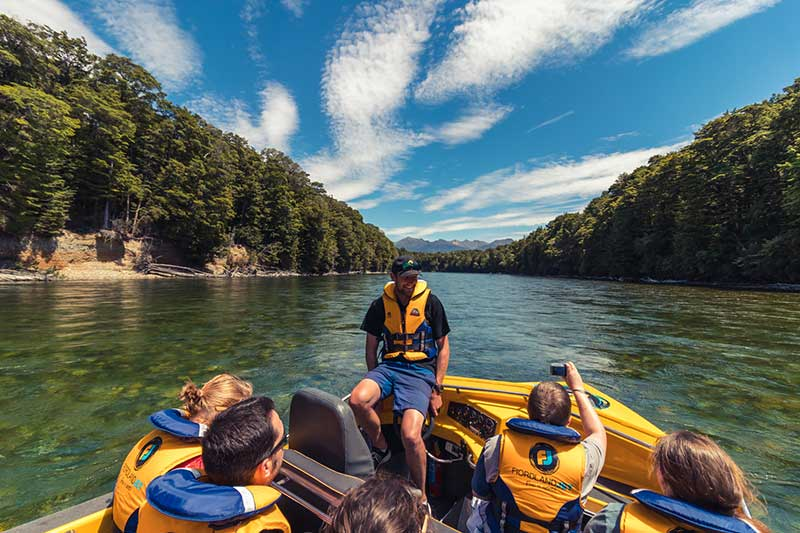 Fiordland Jet - Pure Wilderness Jet Boat Experience