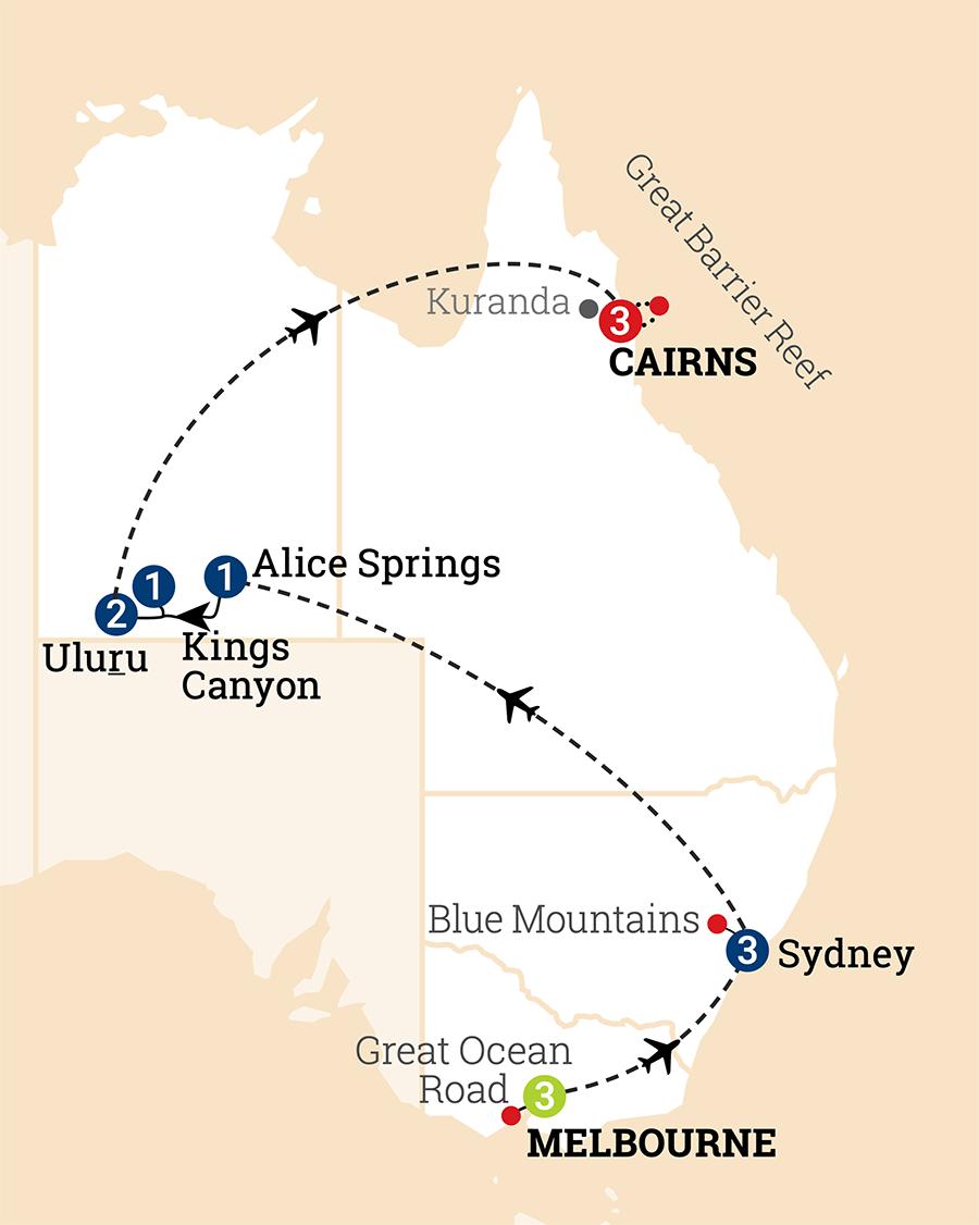Australien entdecken | AAT Kings