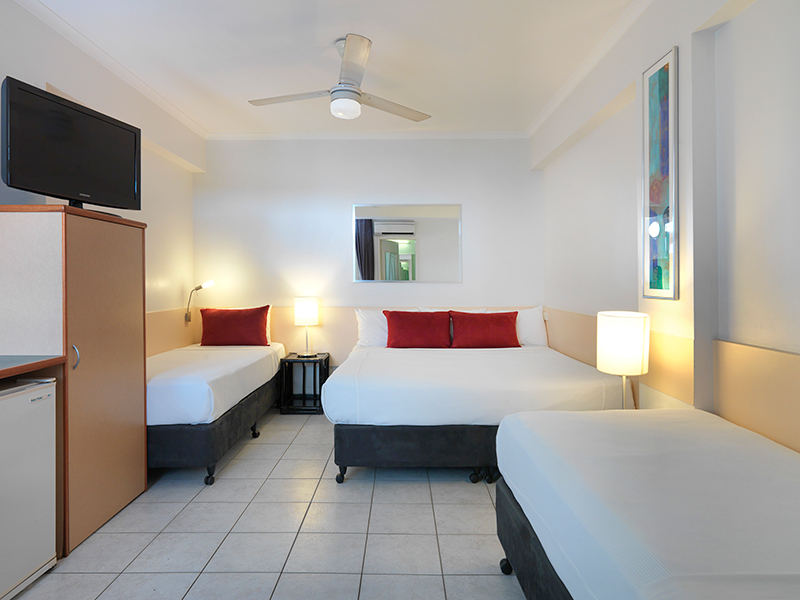 Budget Motel Room at Travelodge Darwin Resort
