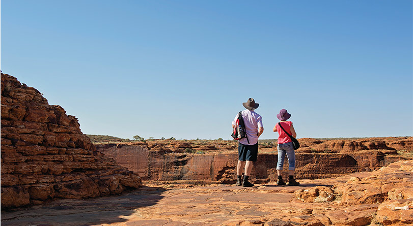 Kings Canyon & Outback Panoramas (ends at Alice Springs)