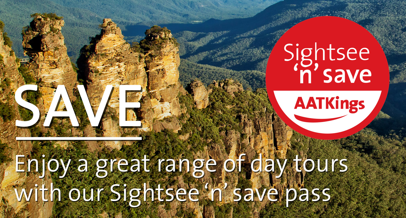 Sightsee 'n' Save Pass discount on Australia Day Tours