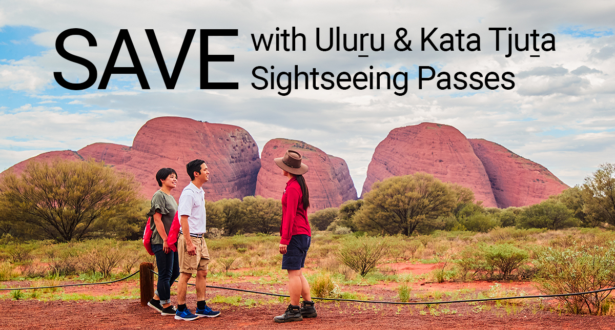 Uluru with the Ochre and Piti Sightseeing Passes