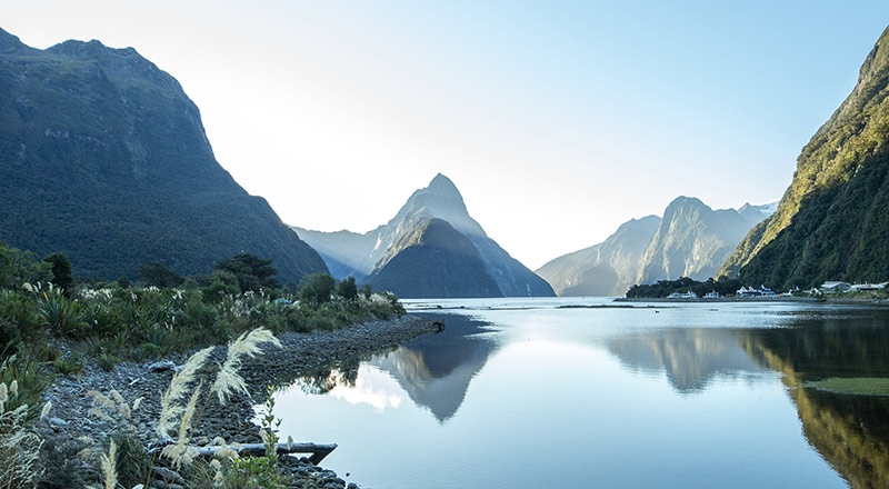 milford sound south island new zealand nzij preview