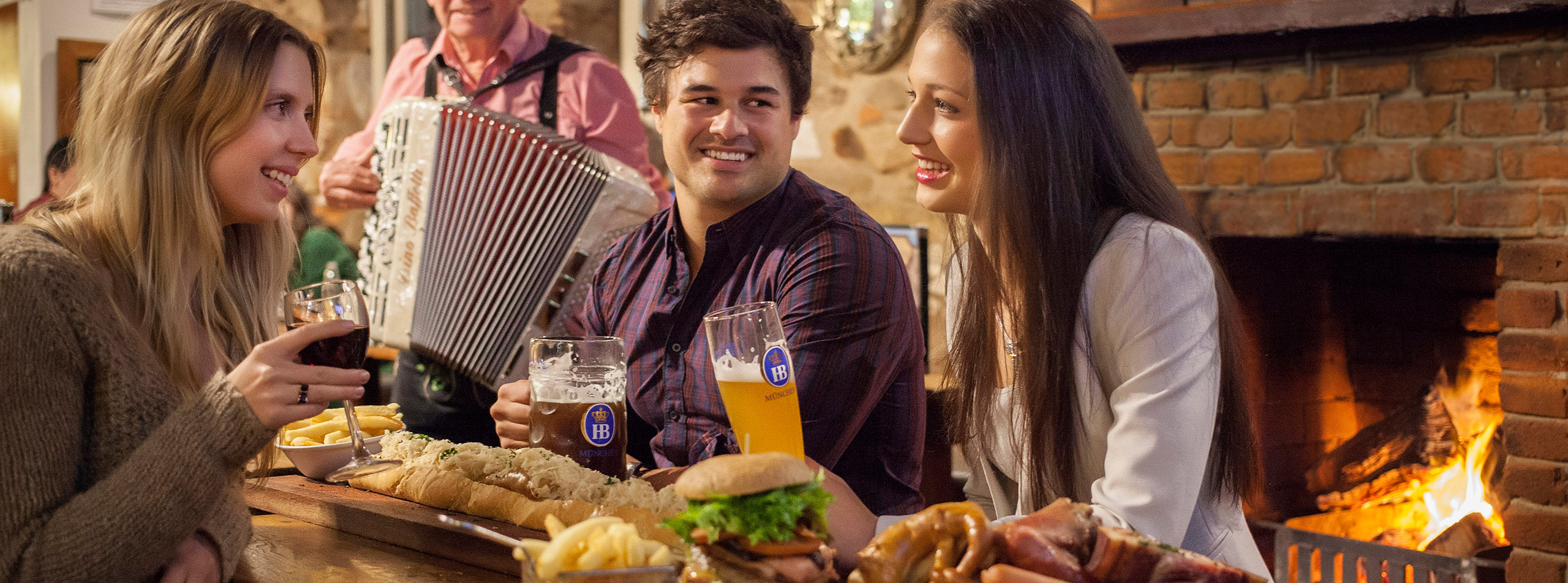 Sample German Beers in Hahndorf