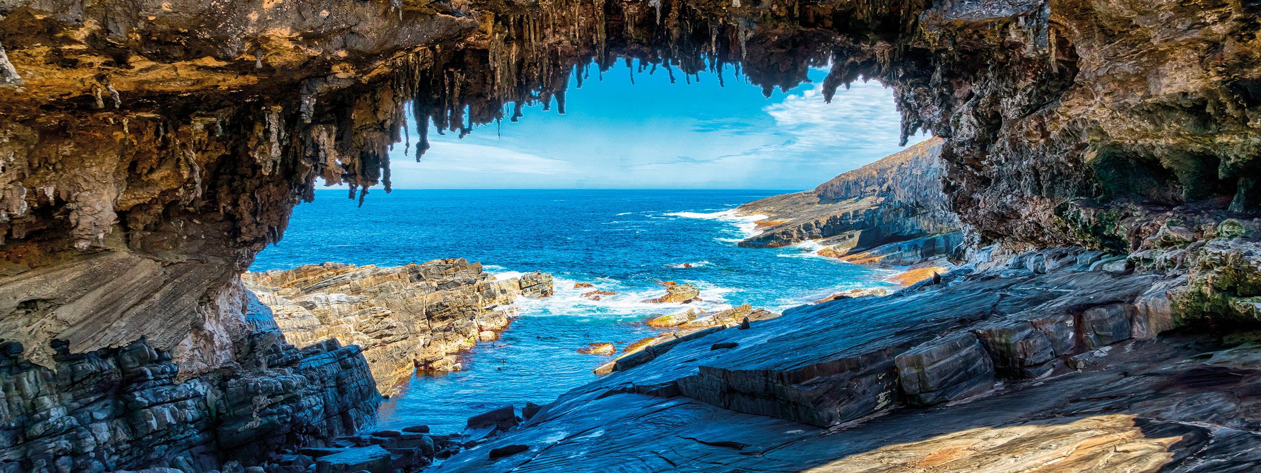 остров в австралии фото пещера место для