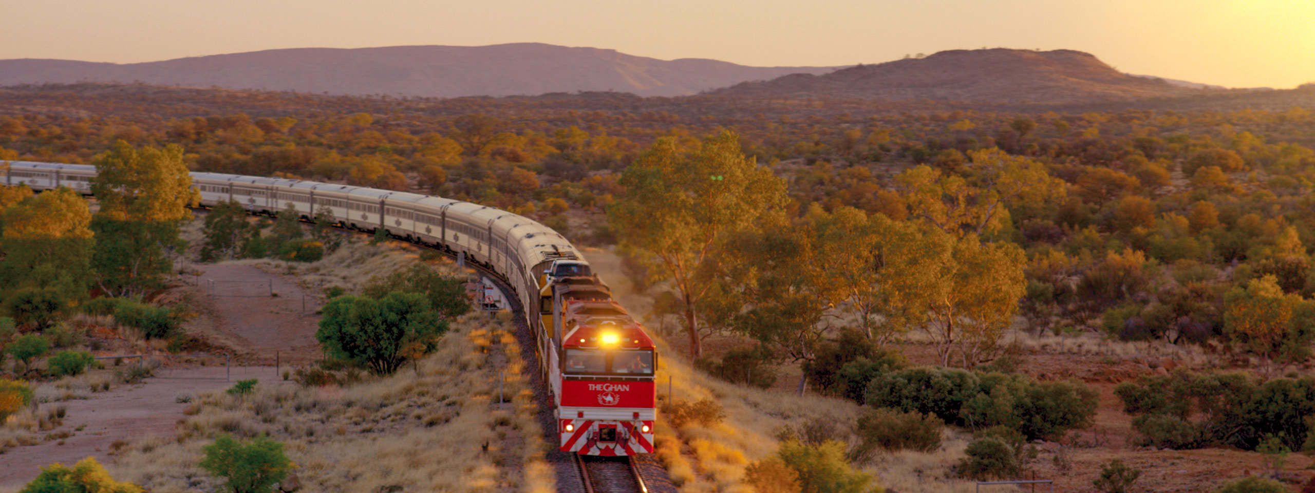 The Ghan Train Journey
