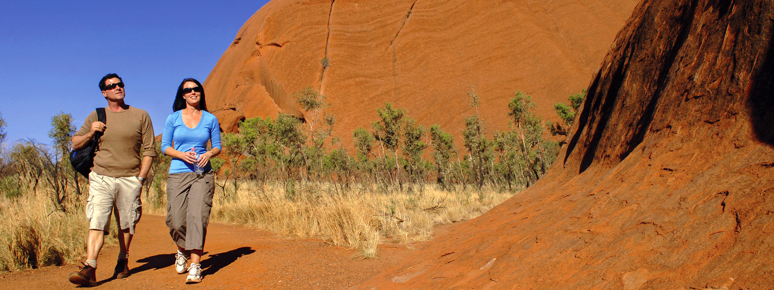 Base of Ayers Rock