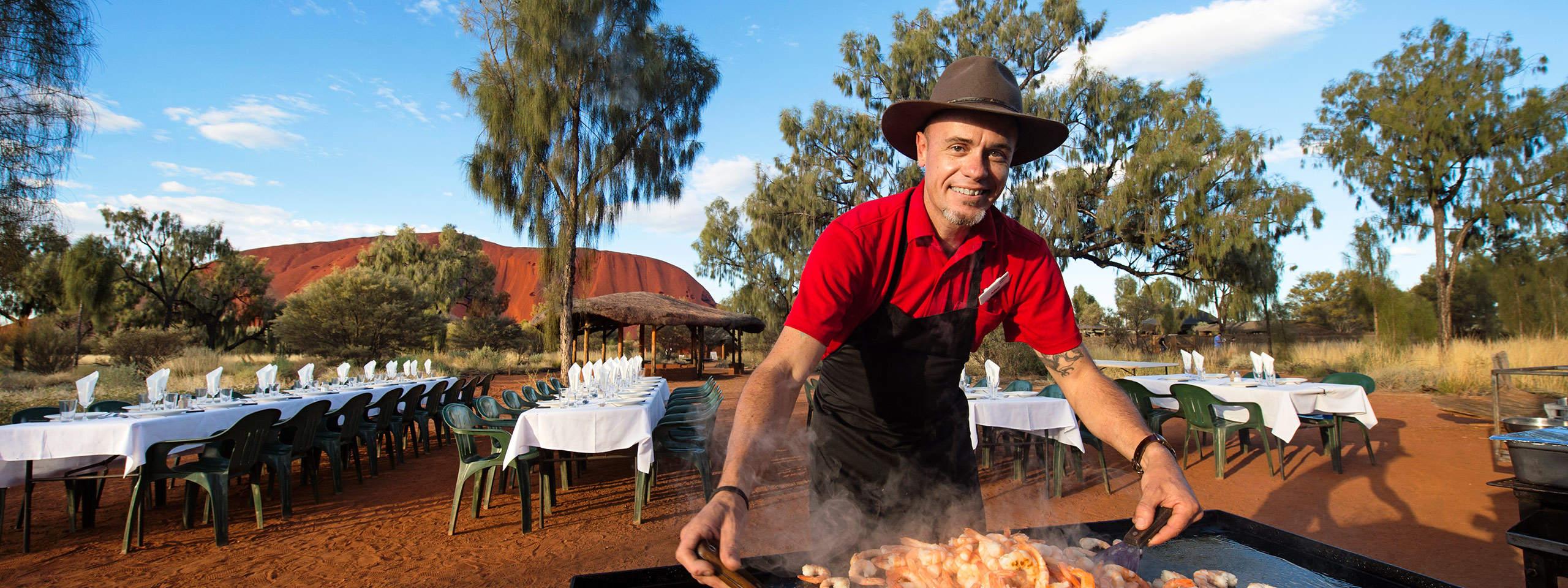 AAT Kings Uluru Barbecue