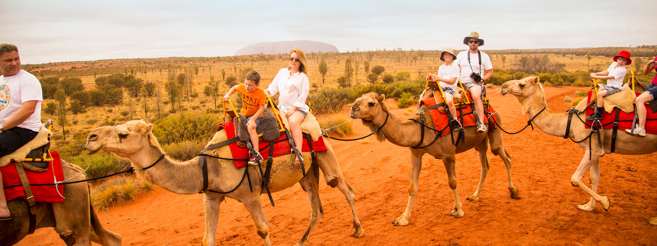 Camel Riding, Red Centre