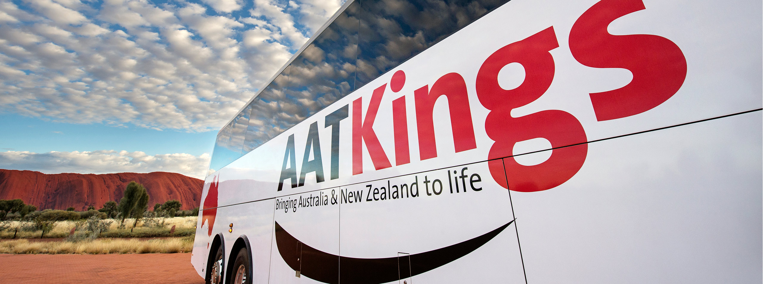 AAT Kings coach at Uluru