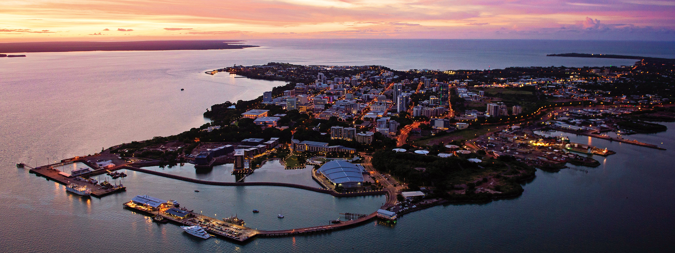 Darwin City sunset