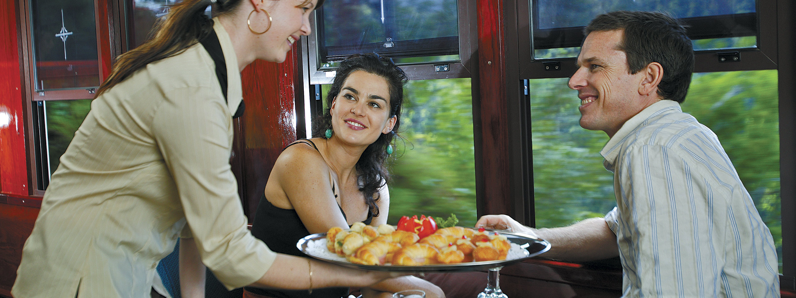 Scenic Rail Gold Class Food Service