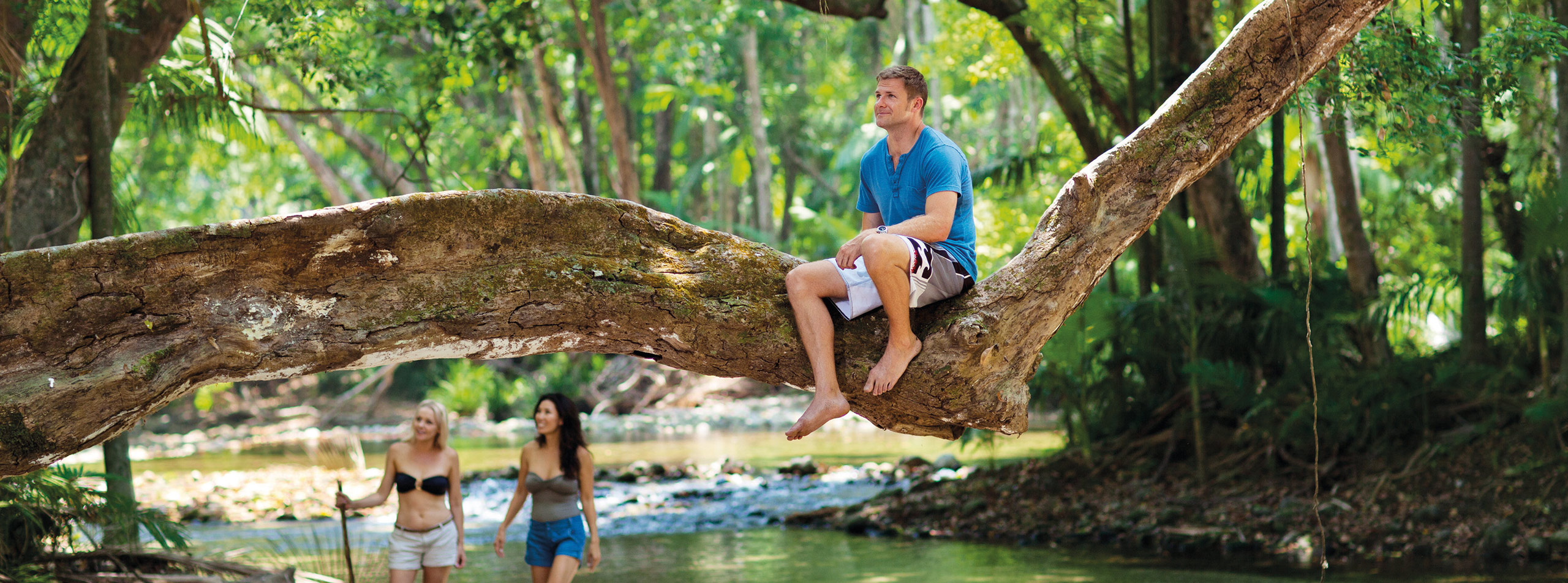 Guests at Mossman Gorge