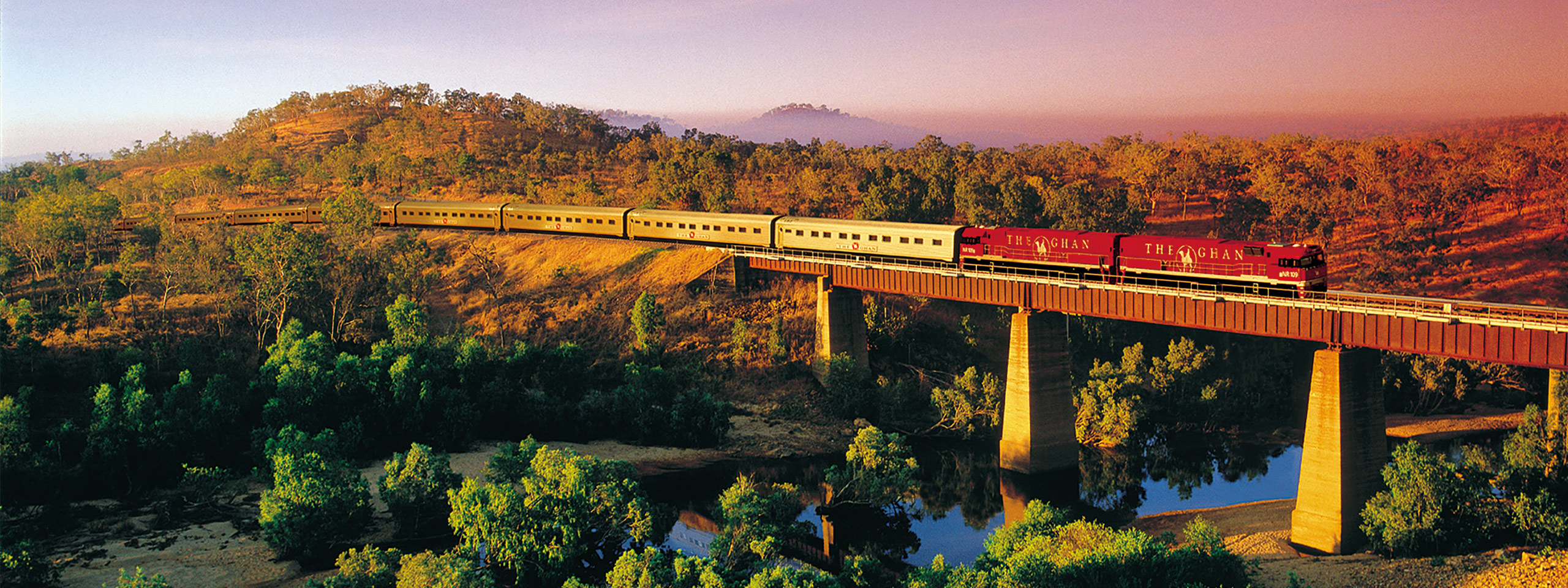The Ghan, Northern Territory