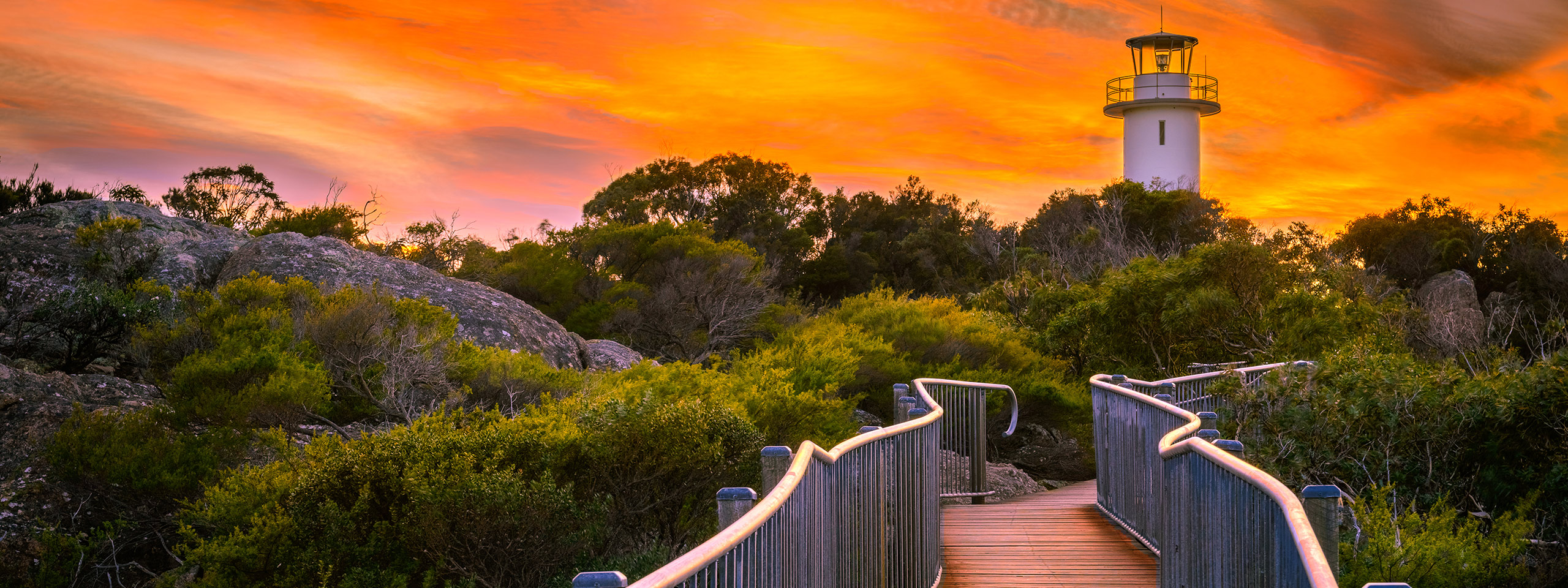 Freycinet Lighthouse sunset