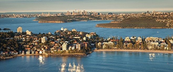 Manly Beach and the City