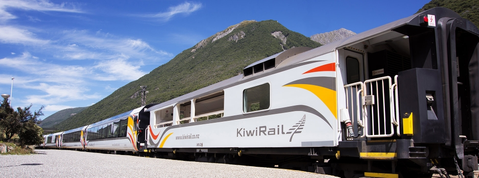 TranzAlpine Train at Arthur's Pass