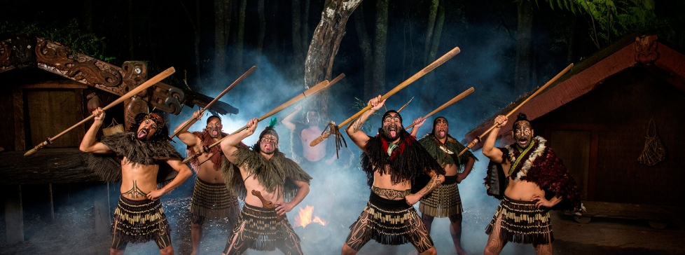 Tamaki Warriors at Tamaki Maori Village