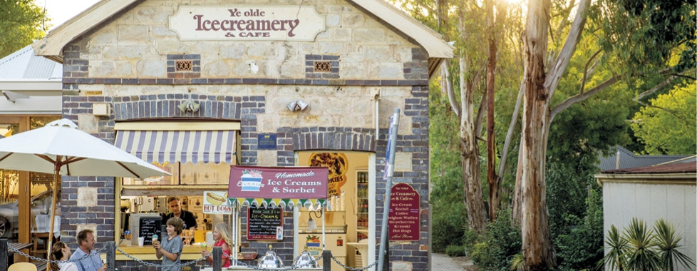 Adelaide – Hahndorf