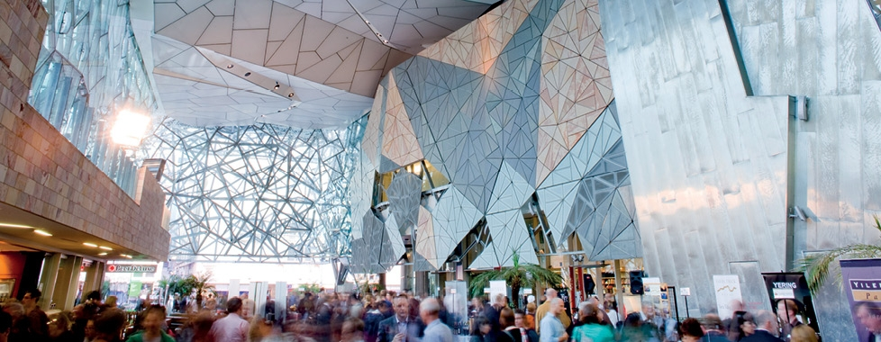 Federation Square interior