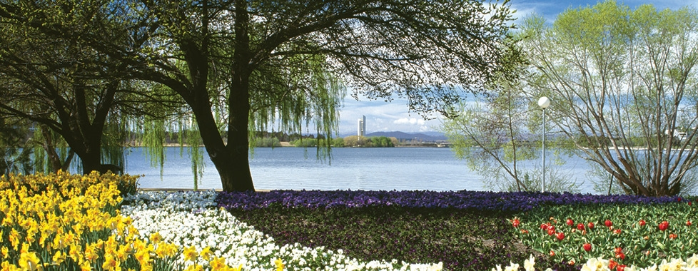 Floriade and Lake Burley Griffin