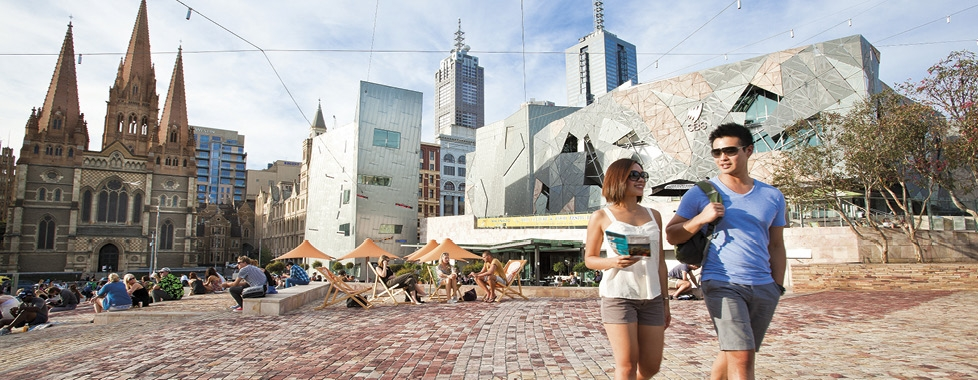 Melbourne – Federation Square