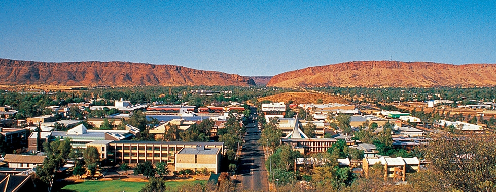 West MacDonnell Ranges and Alice Springs