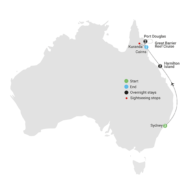 Sydney Reef Rainforest AAT Kings