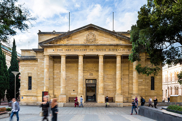 Exterior of Art Gallery of South Australia, Adelaide